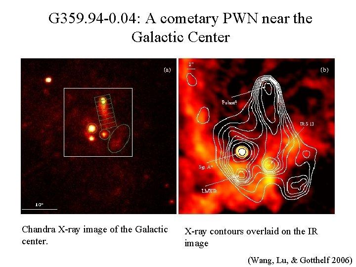 G 359. 94 -0. 04: A cometary PWN near the Galactic Center Chandra X-ray