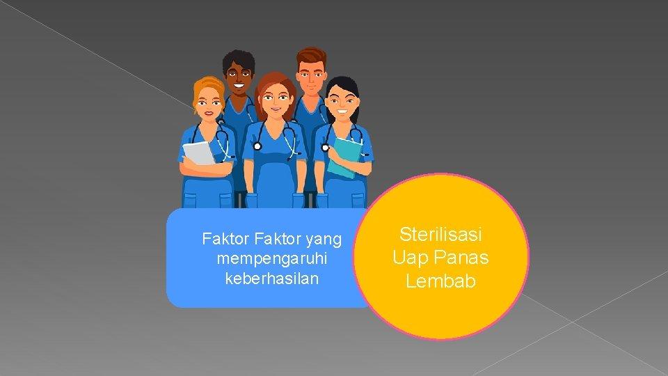 Faktor yang mempengaruhi keberhasilan Sterilisasi Uap Panas Lembab