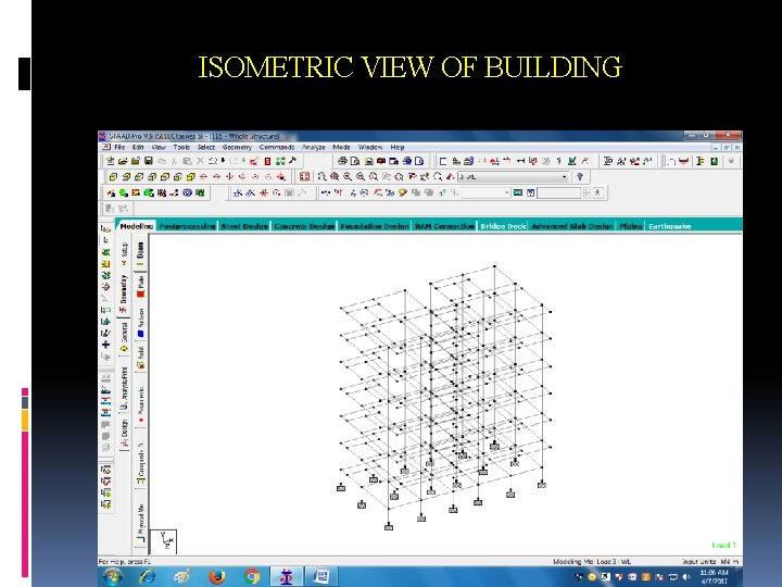 ISOMETRIC VIEW OF BUILDING