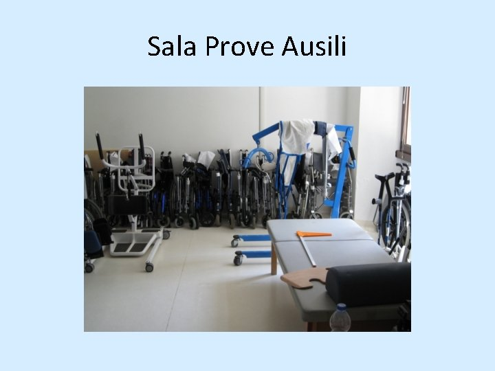 Sala Prove Ausili