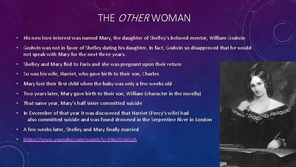 THE OTHER WOMAN • His new love interest was named Mary, the daughter of