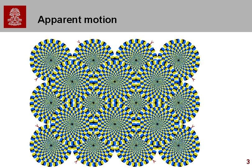 Apparent motion 3