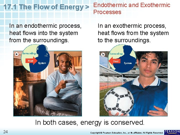 17. 1 The Flow of Energy > Endothermic and Exothermic Processes In an endothermic