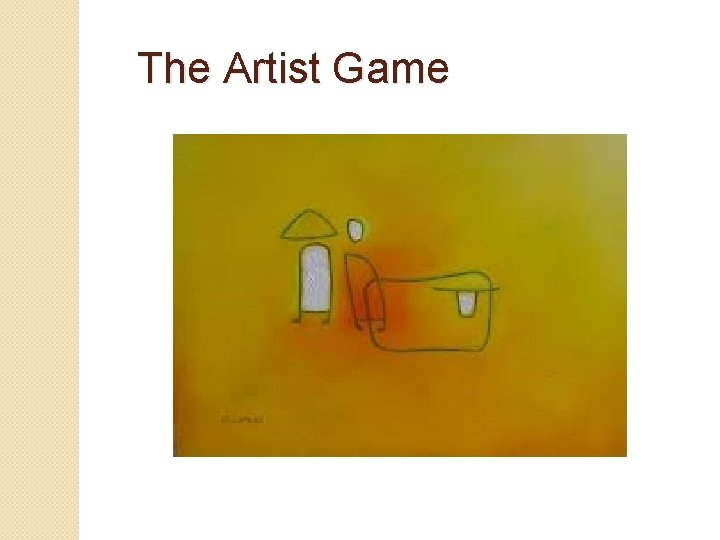 The Artist Game