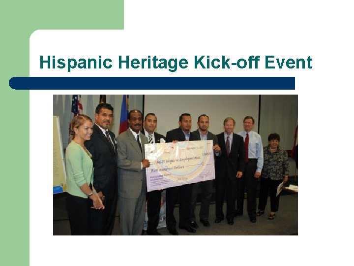 Hispanic Heritage Kick-off Event