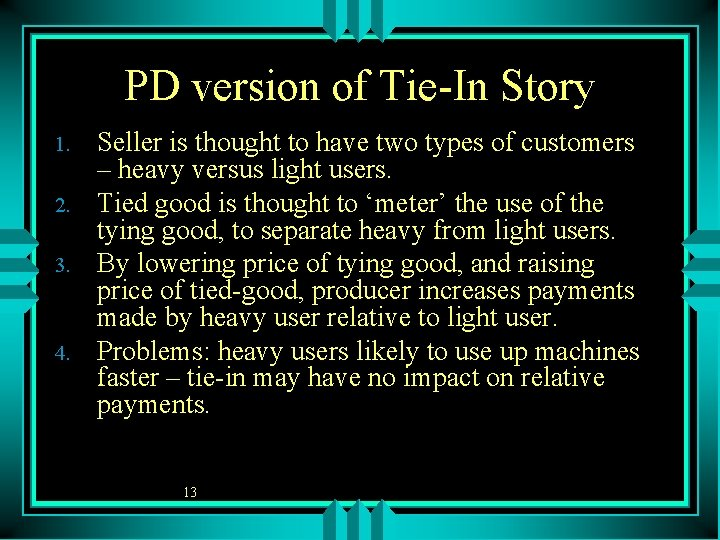 PD version of Tie-In Story 1. 2. 3. 4. Seller is thought to have