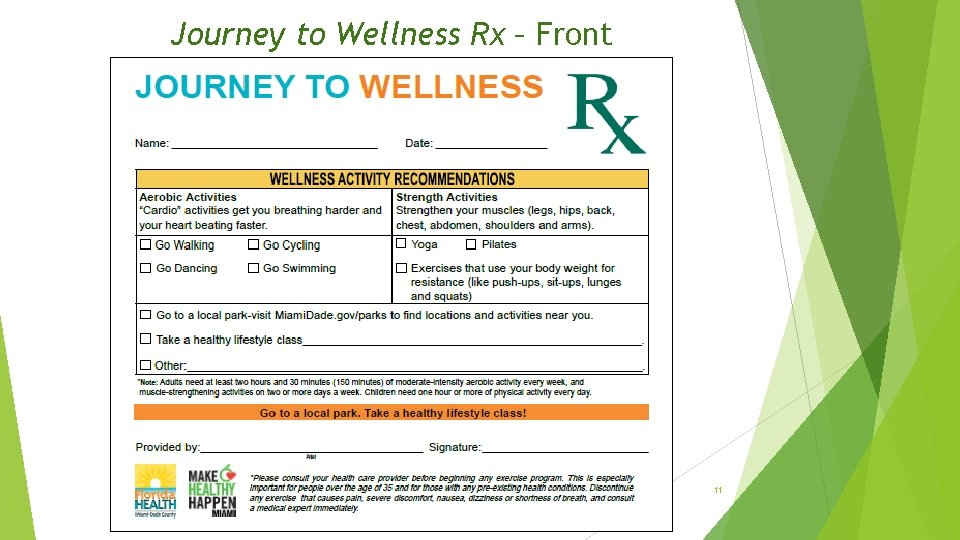 Journey to Wellness Rx – Front 11