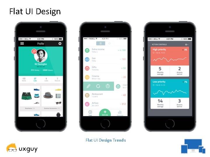 Flat UI Design Trends