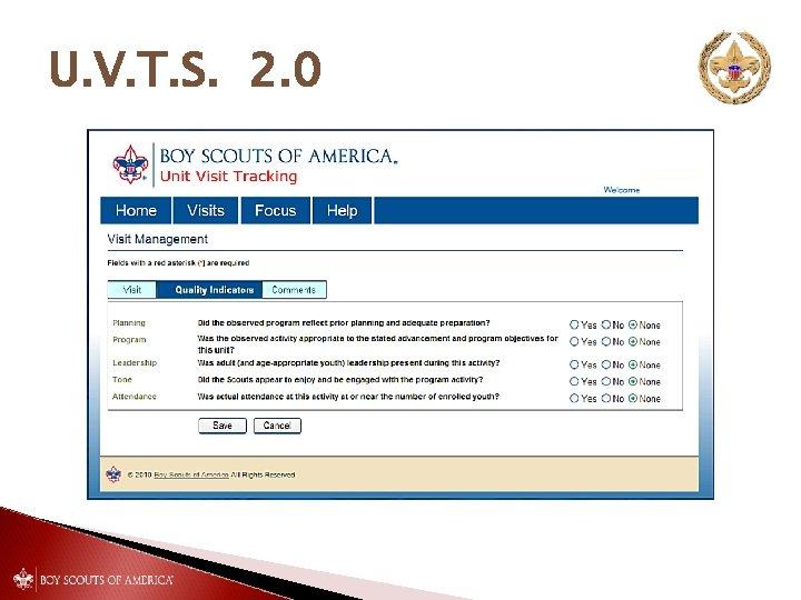 U. V. T. S. 2. 0