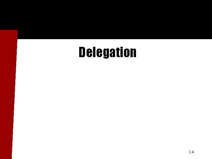 Delegation 14