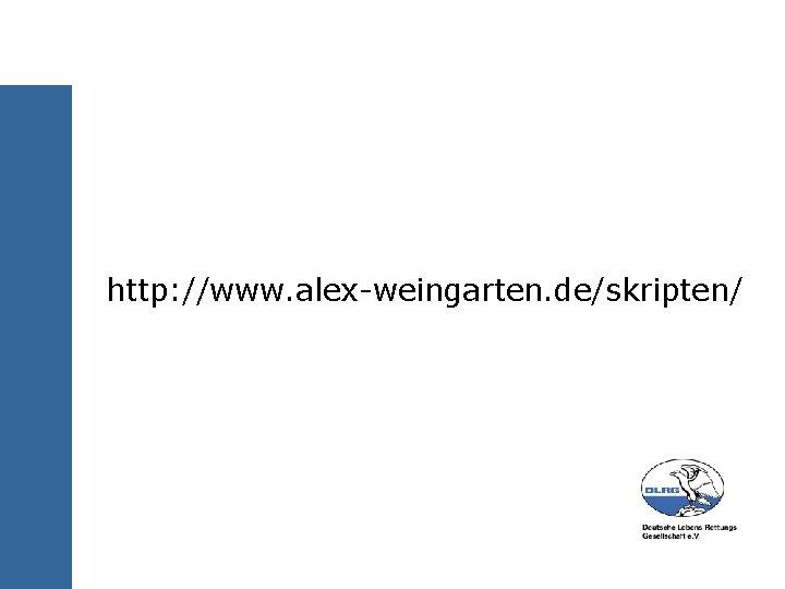 http: //www. alex-weingarten. de/skripten/