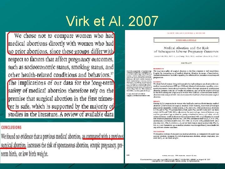 Virk et Al. 2007