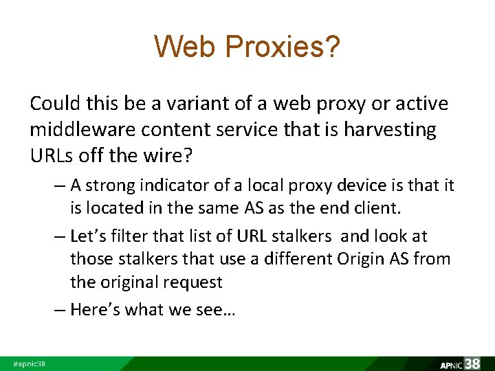 Web Proxies? Could this be a variant of a web proxy or active middleware