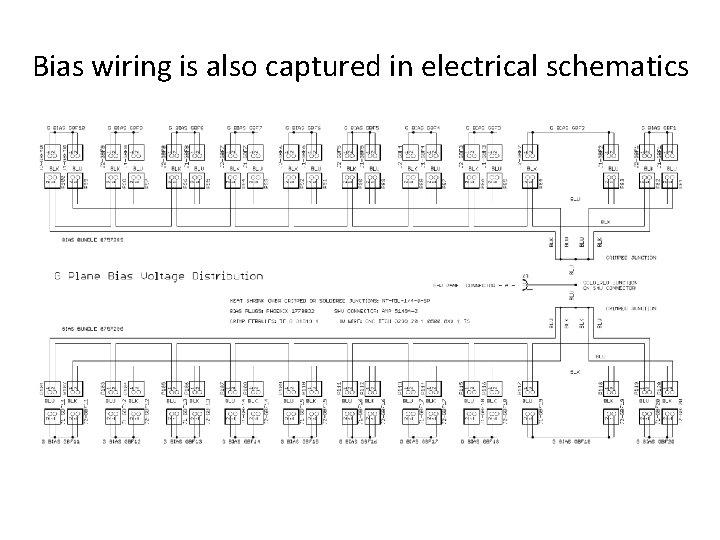 Bias wiring is also captured in electrical schematics