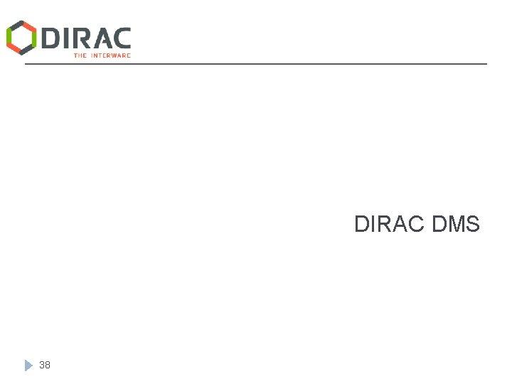 DIRAC DMS 38