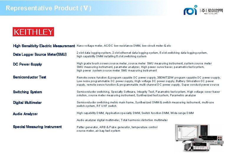 Representative Product (Ⅴ) High Sensitivity Electric Measurement Nano voltage meter, AC/DC low resistance DMM,
