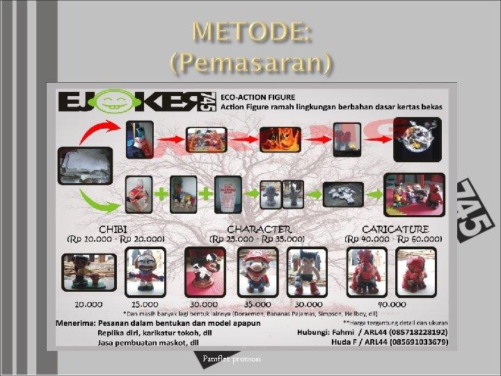 Pamflet promosi