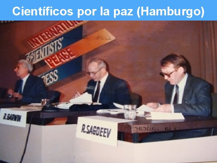 Científicos por la paz (Hamburgo) Slide 6 of #
