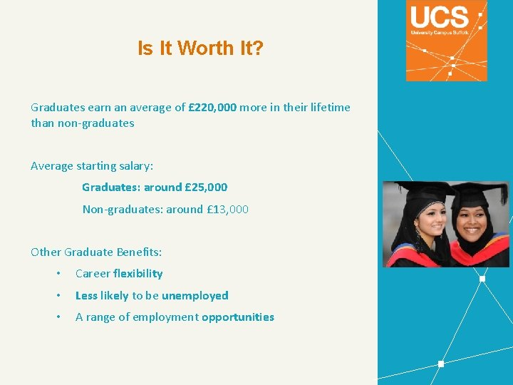 Is It Worth It? Graduates earn an average of £ 220, 000 more in