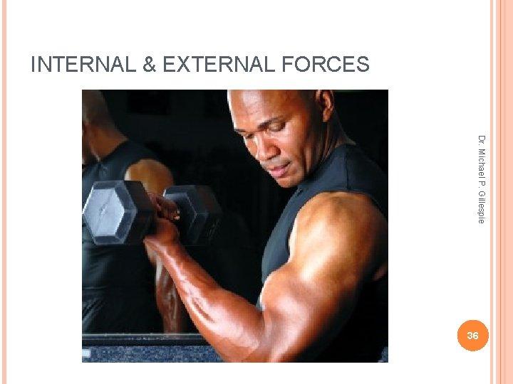 INTERNAL & EXTERNAL FORCES Dr. Michael P. Gillespie 36