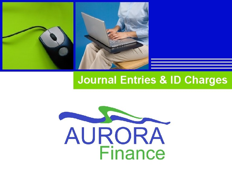 Journal Entries & ID Charges Company LOGO