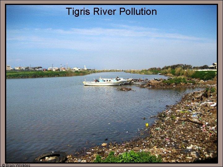 Tigris River Pollution © Brain Wrinkles