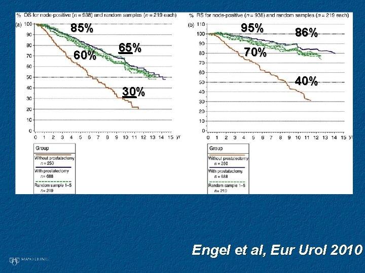 85% 60% 95% 65% 30% 86% 70% 40% Engel et al, Eur Urol 2010