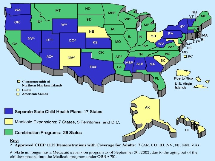 What Has Not Changed 04/02/2012 Medicaid and the Children's Health Insurance Program 40