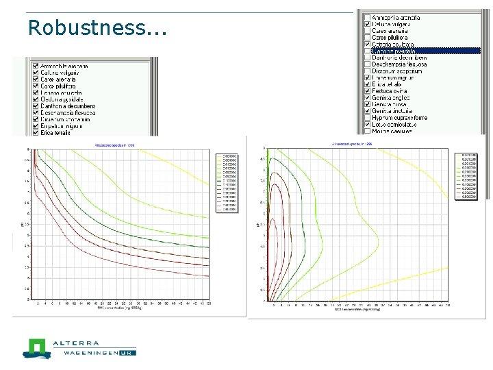 Robustness. . .