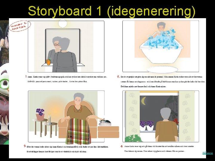 Storyboard 1 (idegenerering) tilbage