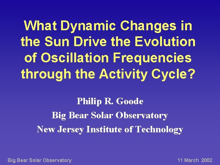 What Dynamic Changes in the Sun Drive the Evolution of Oscillation Frequencies through the