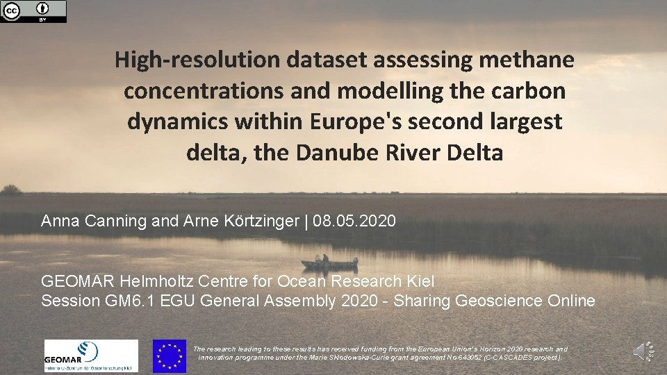 High-resolution dataset assessing methane concentrations and modelling the carbon dynamics within Europe's second largest