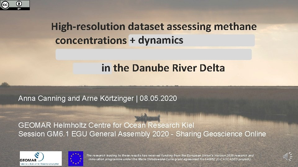 High-resolution dataset assessing methane + dynamics concentrations and modelling the carbon dynamics within Europe's
