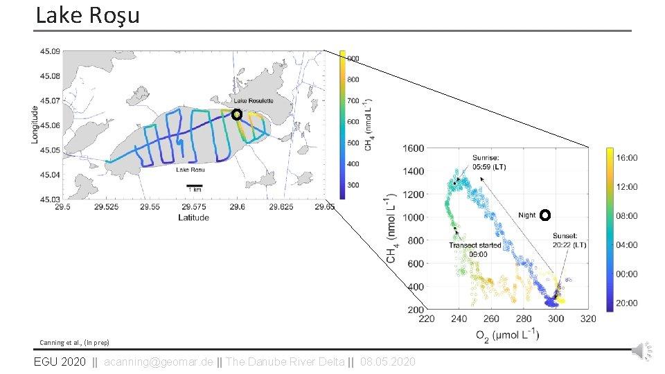 Lake Roşu Canning et al. , (In prep) EGU 2020    acanning@geomar. de   