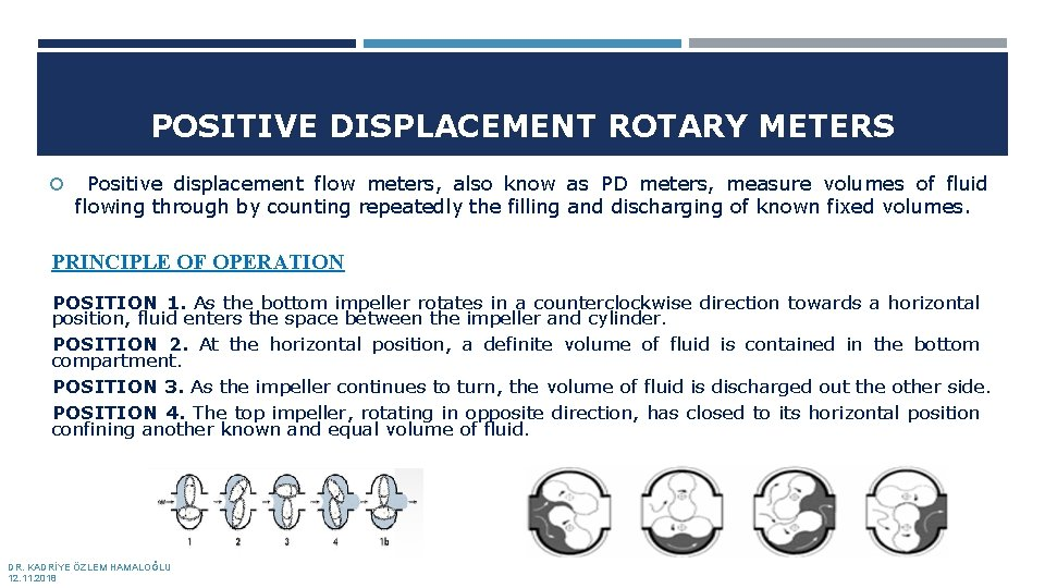 POSITIVE DISPLACEMENT ROTARY METERS Positive displacement flow meters, also know as PD meters, measure