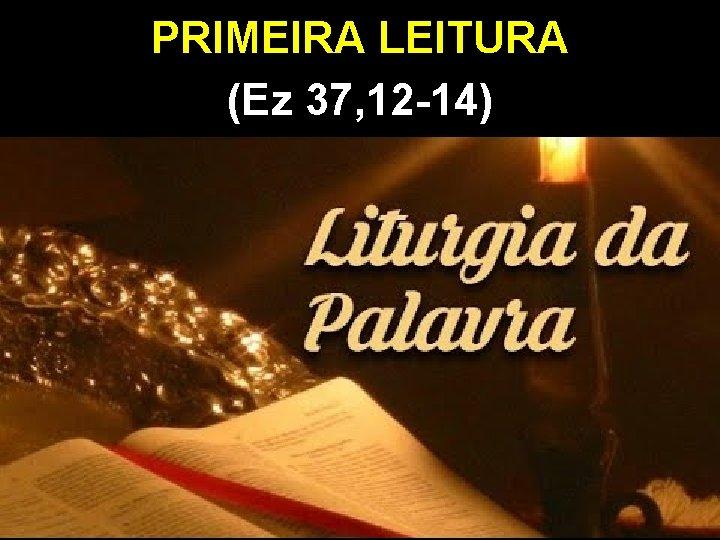 PRIMEIRA LEITURA (Ez 37, 12 -14)