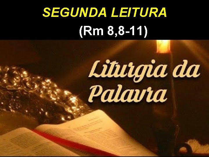 SEGUNDA LEITURA (Rm 8, 8 -11)