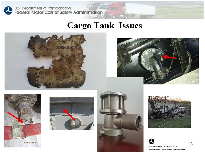 Cargo Tank Issues 13