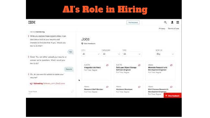 AI's Role in Hiring
