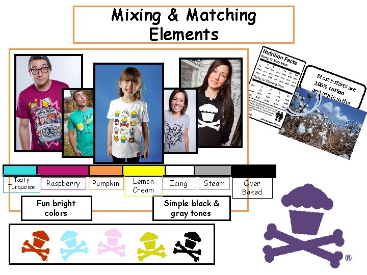Mixing & Matching Elements Mos t 100 t-shirt % co s ar e and