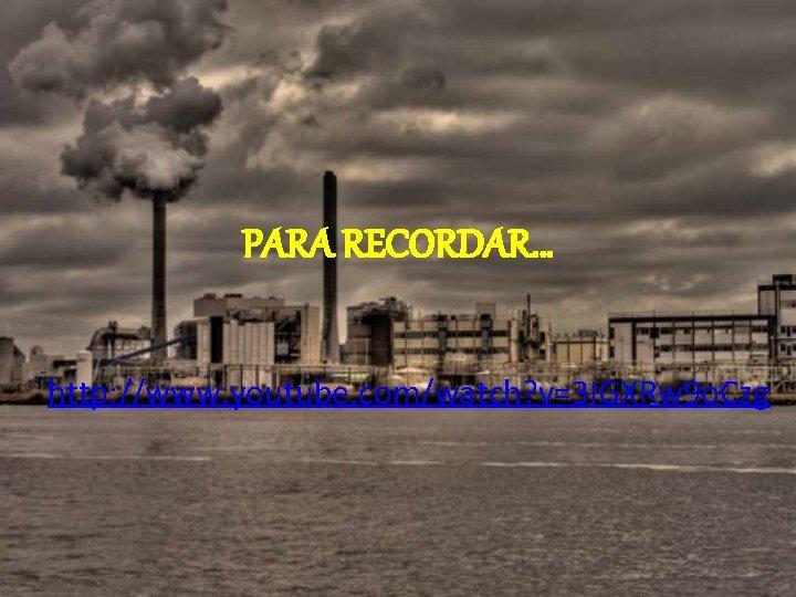 PARA RECORDAR… http: //www. youtube. com/watch? v=3 IGXRw 9 o. Czg