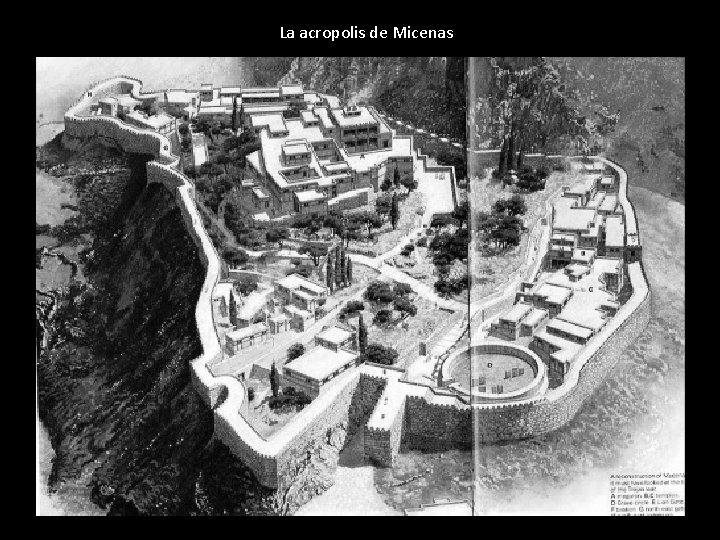 La acropolis de Micenas