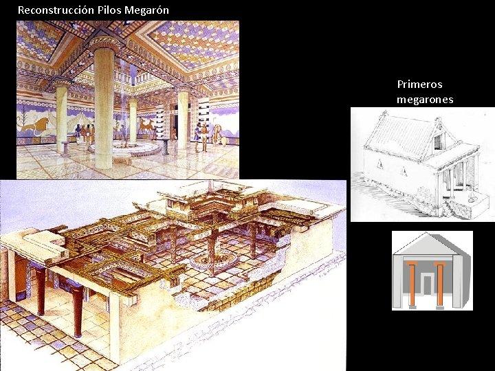 Reconstrucción Pilos Megarón Primeros megarones