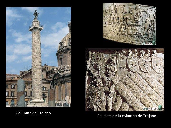 Columna de Trajano Relieves de la columna de Trajano