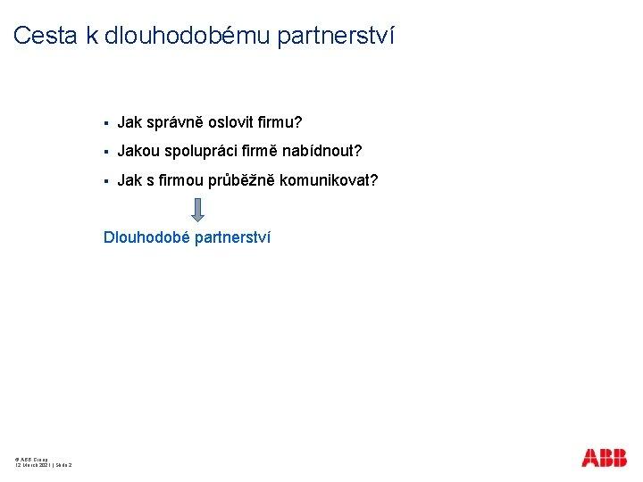 Cesta k dlouhodobému partnerství § Jak správně oslovit firmu? § Jakou spolupráci firmě nabídnout?