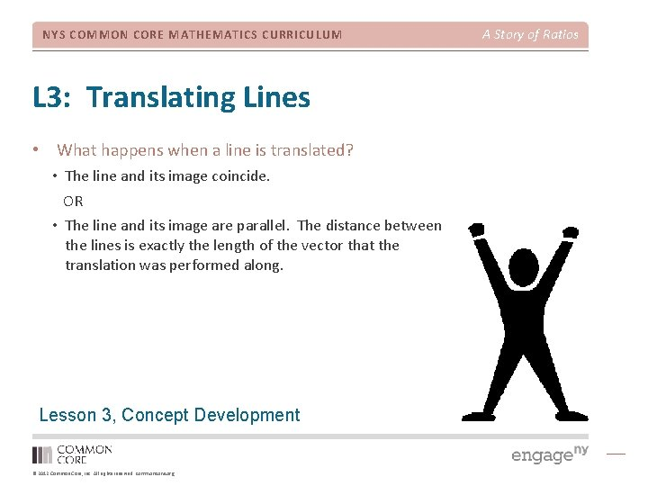 NYS COMMON CORE MATHEMATICS CURRICULUM L 3: Translating Lines • What happens when a