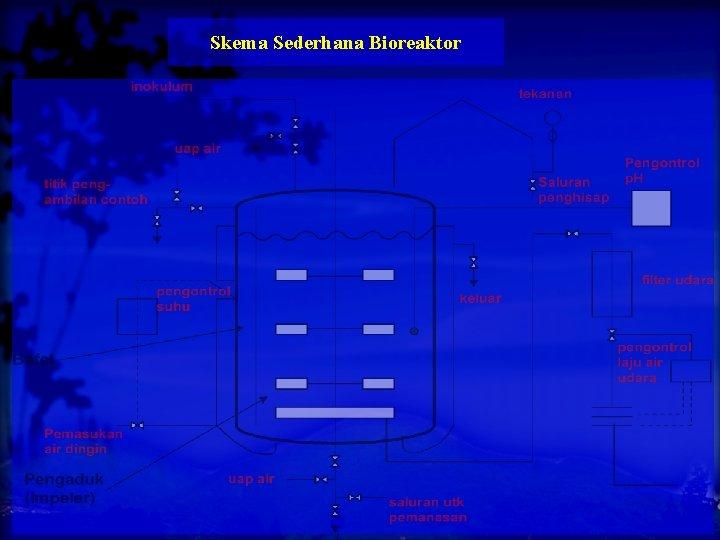 Skema Sederhana Bioreaktor