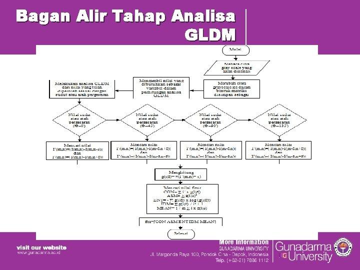 Bagan Alir Tahap Analisa GLDM
