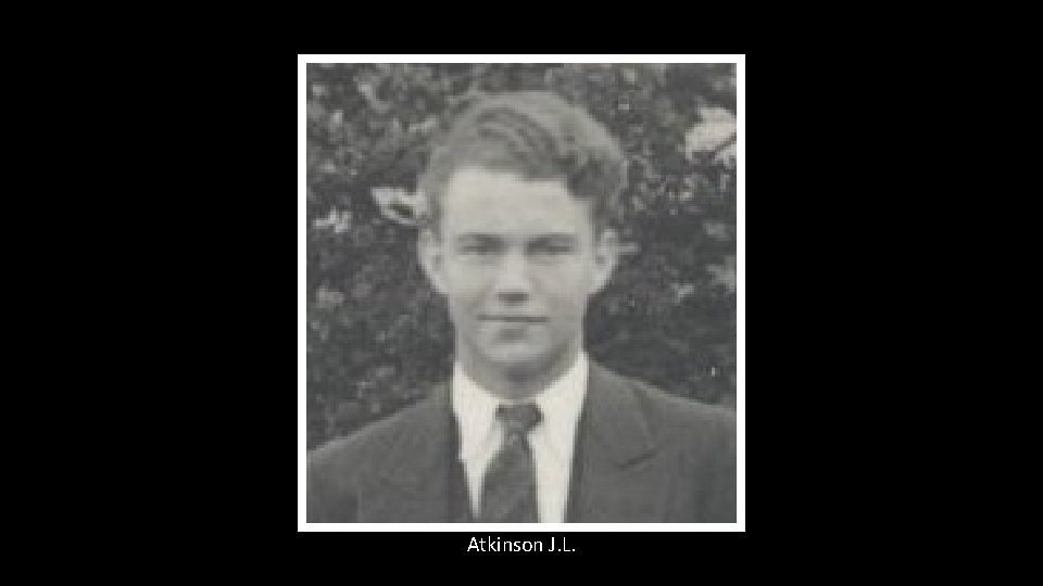 Atkinson J. L.