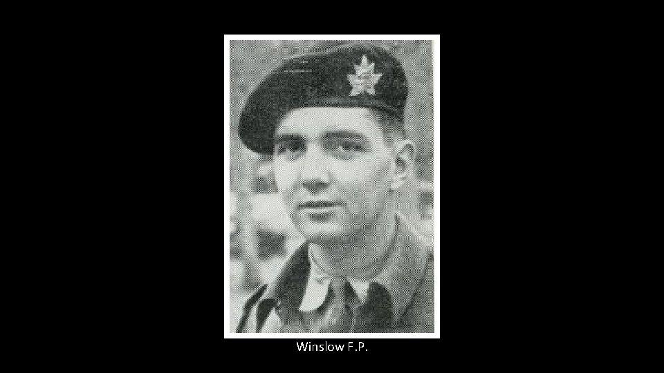 Winslow F. P.